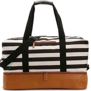 DSW Weekender double section duffel bag